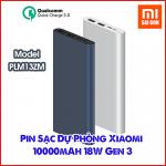 Pin Sạc Dự Phòng Xiaomi 10000mAh Gen 3 - 18W PLM13ZM