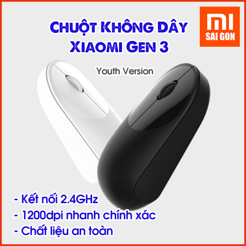 Chuột Không Dây Xiaomi Gen 3