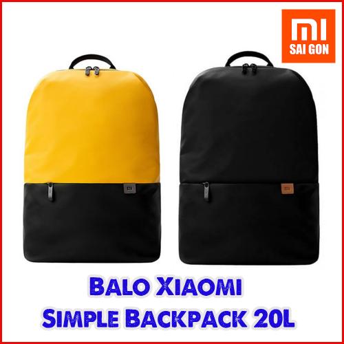 Balo Simple Xiaomi 2019 ( Đen / Vàng )