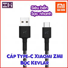 Cáp Type C ZMI AL401 (dài 1m - bọc sợi Kevlar) - Đen