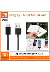 Cáp sạc ZMI Type C AL701 - Dài 1m
