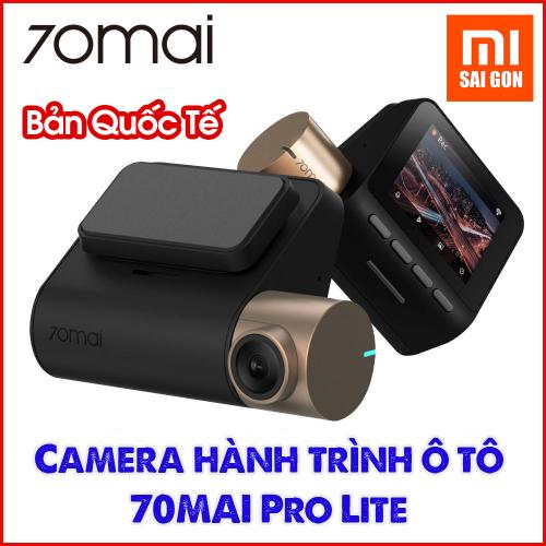 [BẢN QUỐC TẾ] Camera hành trình ô tô 70MAI Pro Lite Midrive D08