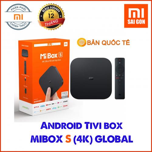 Android TV Box Mibox S (4K) Quốc Tế