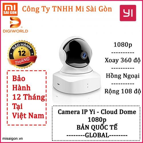 Camera Yi Cloud Dome Y19 (DGW) - Bản quốc tế