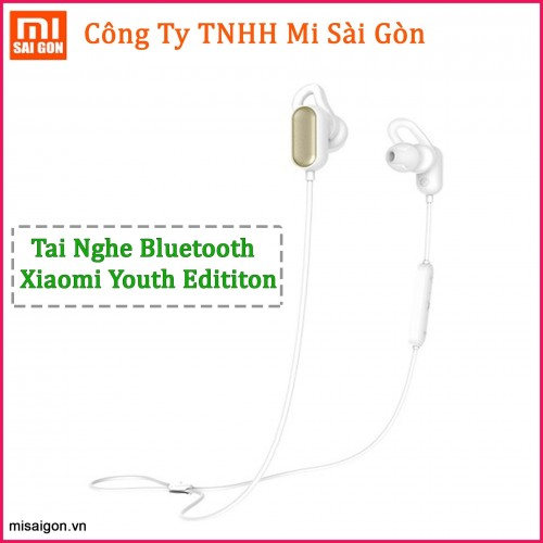Tai nghe Bluetooth thể thao Xiaomi Youth Edition - Trắng