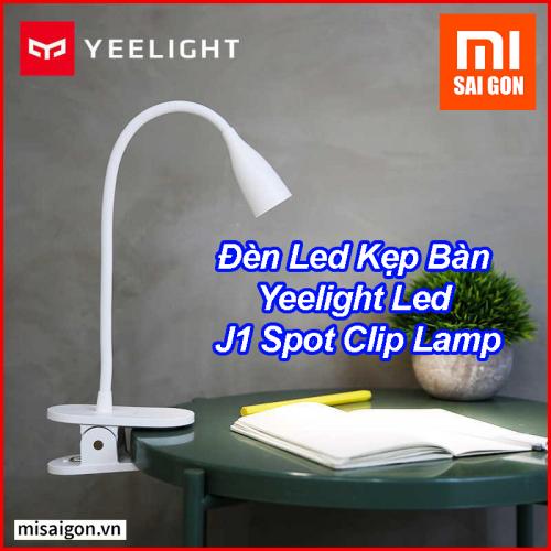 Đèn Led Kẹp Bàn Yeelight Led J1 Spot Clip Lamp