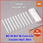 Bộ 10 Bút Bi Trắng Cao Cấp Xiaomi Mực Đen