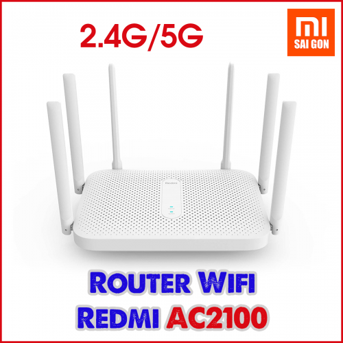 Router Wifi Redmi AC2100 ( 6 anten )