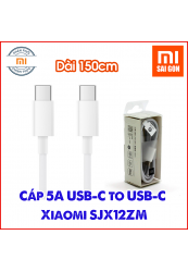 Cáp USB type C to type C Xiaomi SJX12ZM 150cm - Hàng Chính Hãng