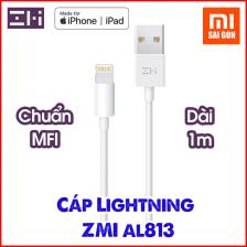 Cáp Lightning ZMI AL813 Dài 1m Chuẩn MFi - Dùng cho iPhone, iPad