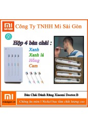 Bộ 4 Bàn Chải Đánh Răng Xiaomi Doctor-B Toothbrush