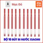 Bộ 10 Bút bi nước Xiaomi - Mi Jumbo Gel Ink Pen (Mực Đỏ)