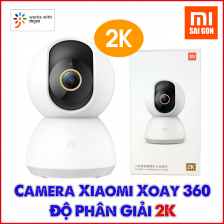 Camera IP Xiaomi Mijia 360 độ 2K - Năm 2020