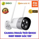 Camera Ngoài Trời Qihoo D801 1080P Góc 120 độ - New 2019