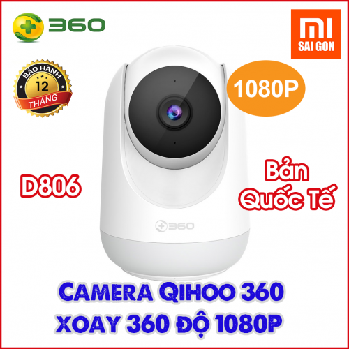 Camera Qihoo 360 Xoay D806 Độ phân giải 1080P - Bản Quốc Tế