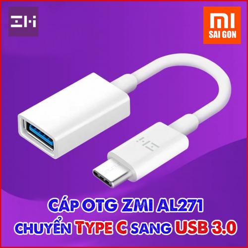 Cáp OTG ZMI AL271 chuyển từ Type C sang USB 3.0
