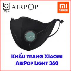 Khẩu trang Xiaomi AirPOP Light 360 kháng bụi mù các loại hạt PM2.5