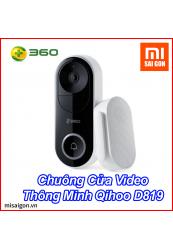 Chuông Cửa Video Thông Minh Qihoo D819 - Bản Quốc Tế Chính Hãng
