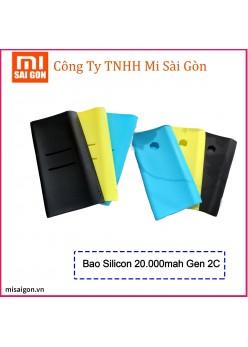 Silicon bảo vệ Pin sạc dự phòng Xiaomi 20000mah gen 2C 2018