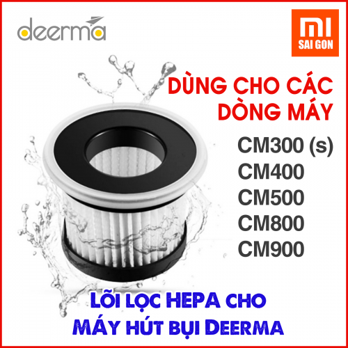 Lõi lọc Hepa cho máy hút hút bụi Deerma CM800, CM300(S), CM400, CM500, CM900
