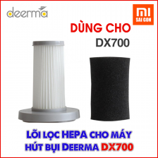 Lõi lọc Hepa thay thế cho máy hút bụi Deerma DX700/DX700S.