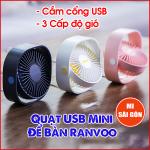 Quạt USB Mini Để Bàn RANVOO