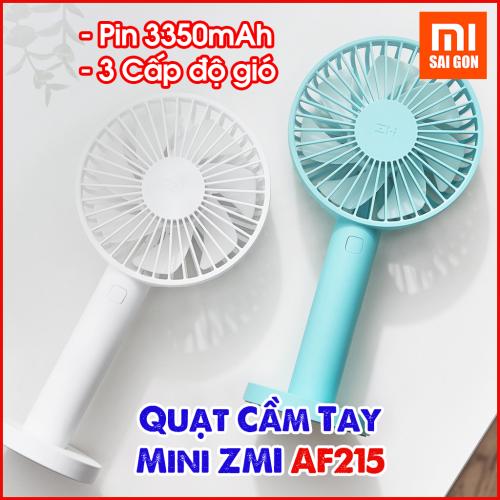 Quạt Mini ZMI AF215 Sạc USB 3 Chế Độ (3350mAh)